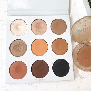 Kylie Clinique Bliss Nude Eyeshadows Used